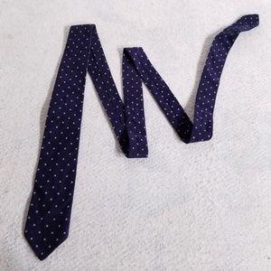 Hugo Boss Fleece-Like Thin Polka Dot Neck Tie